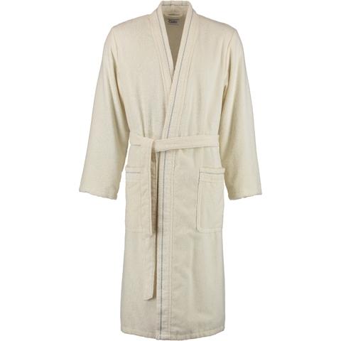 Элитный халат велюровый мужской 4511 натуральный от Cawo