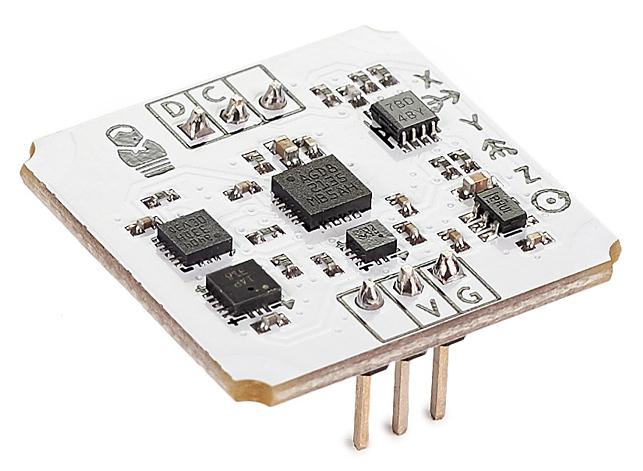 Инерциальный модуль на 10 степеней свободы (IMU-сенсор) - общий вид