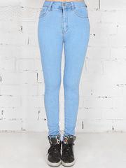 1-2077X джинсы женские, голубые
