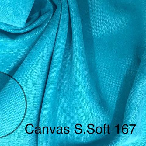Канвас бирюзовый оптом. Ширина - 280 см. Арт.167