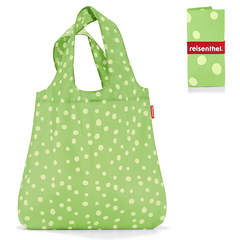Сумка складная Mini maxi shopper spots green Reisenthel