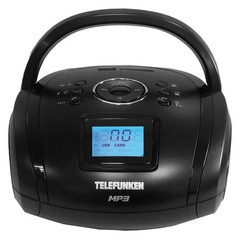Магнитола Telefunken TF-SRP3449Bl