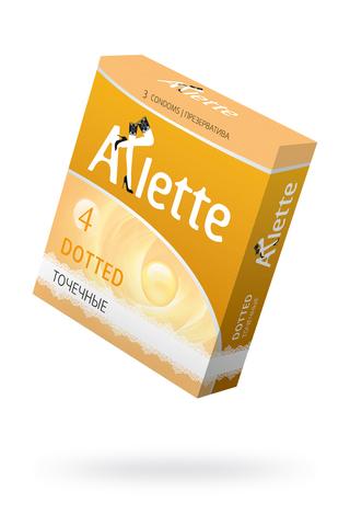 Презервативы ''Arlette'' №3, Dotted Точечные 3 шт. фото