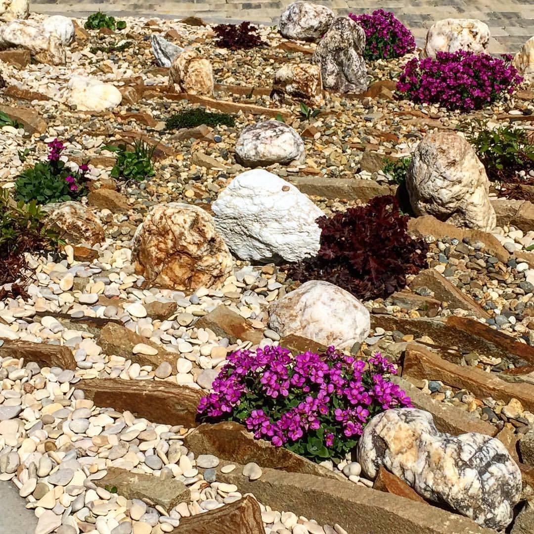 Ландшафт Галька камень морской Каспийский