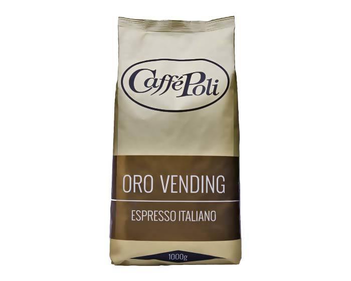 Кофе в зернах Poli Oro Vending, 1 кг (Каффе Поли)