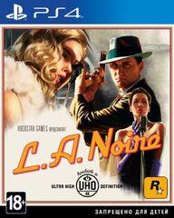 Sony PS4 L.A.Noire (русские субтитры)