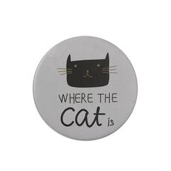 Зеркало Sweet Animal Cat Grey
