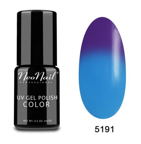 NeoNail Гель-лак UV 6ml Blue Lagoon Термо №5191-1