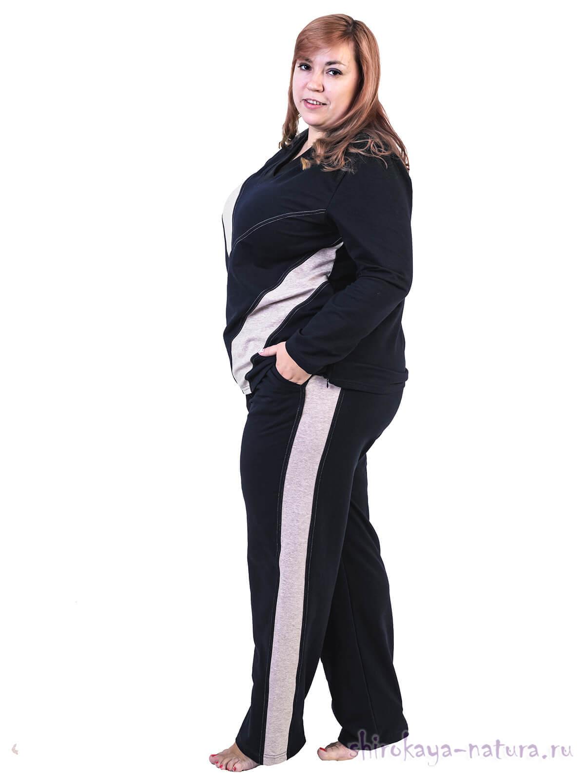 Спортивный костюм из футера Полина