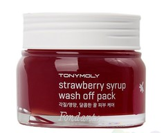 Tony Moly Fondante Клубничная маска для лица Fondante strawberry syrup wash off pack