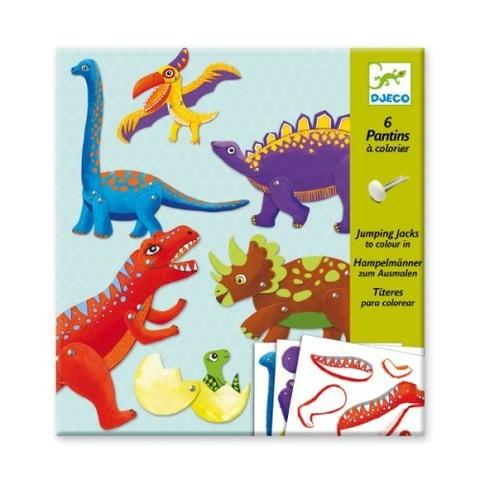 Двигающиеся фигуры Динозавры