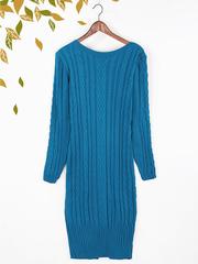 2053-11 платье женское, синее