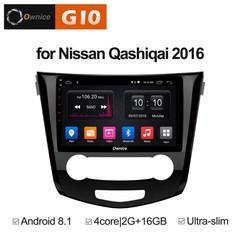 Штатная магнитола на Android 8.1 для Nissan Qashiqai 2 16+ Ownice G10 S1667E