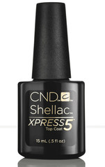 CND Shellac XPRESS5 Top Coat 15 мл