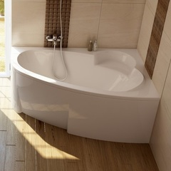 Ванна асимметричная 150х100 см Ravak Asymmetric C451000000 фото