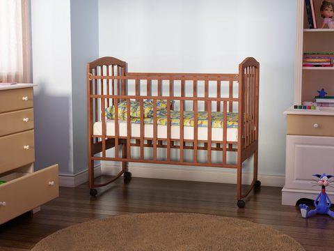 детская кровать Золушка 1(орех)