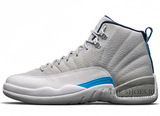 Кроссовки Мужские Air Jordan 12 Retro Jumpmen Wolf Grey Medial