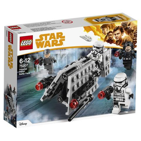 LEGO Star Wars: Боевой набор имперского патруля 75207 — Imperial Patrol Battle Pack — Лего Звездные войны Стар Ворз