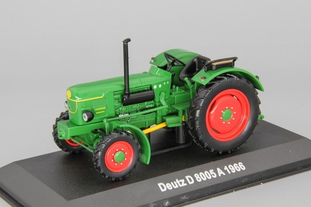 Tractor Deutz D 8005 A 1966 1:43 Hachette #84