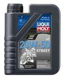Liqui Moly Motorbike 4T Street 20W-50 — Минеральное моторное масло для 4-тактных мотоциклов