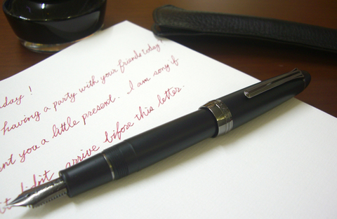 Перьевая ручка Nagasawa/Sailor 130Th Anniversary Fountain Pen 1882 Silhouette Limited Edition