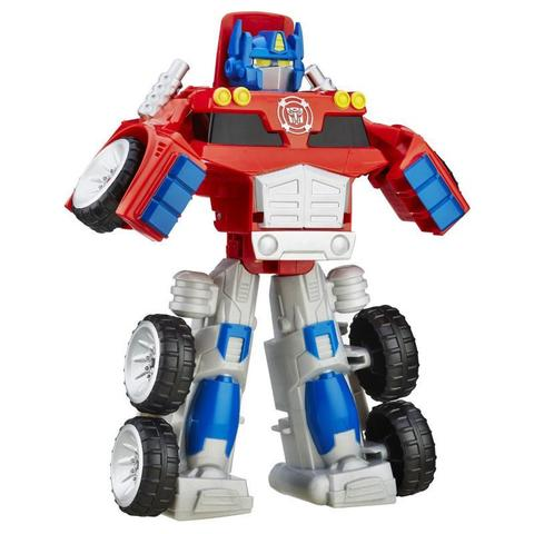 Робот - трансформер Playskool Оптимус Прайм (Optimus Prime) полугрузовик - Боты спасатели (Rescue Bots), Hasbro