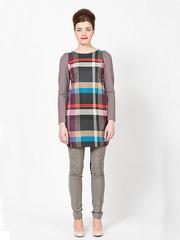 P176-158k платье женское, цветное