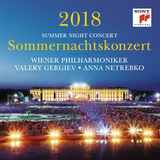 Vienna Philharmonic, Valery Gergiev, Anna Netrebko / Summer Night Concert 2018 (CD)