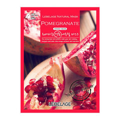 Lebelage Pomegranat Natural Mask - Маска тканевая с экстрактом граната