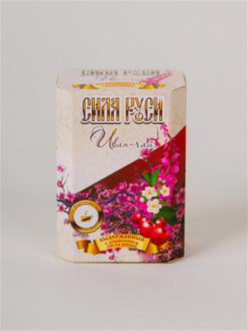 Иван-чай выдержанный с листом вишни, Сила Руси, 75 гр.