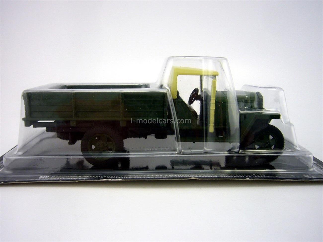 GAZ-MM-V 1938-1946 khaki 1:43 DeAgostini Auto Legends USSR #219