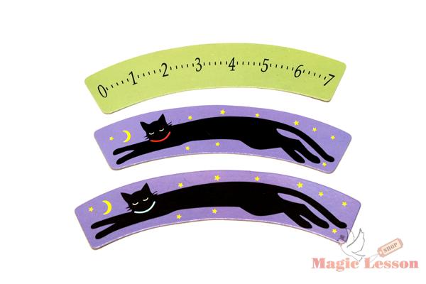 Оптическая иллюзия с кошкой