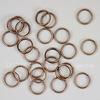 Комплект двойных колечек 8х1,4 мм (цвет - античная медь), 20 гр (примерно 140 шт)