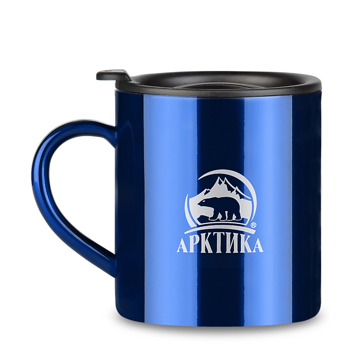 Термокружка Арктика (0,3 литра), синяя