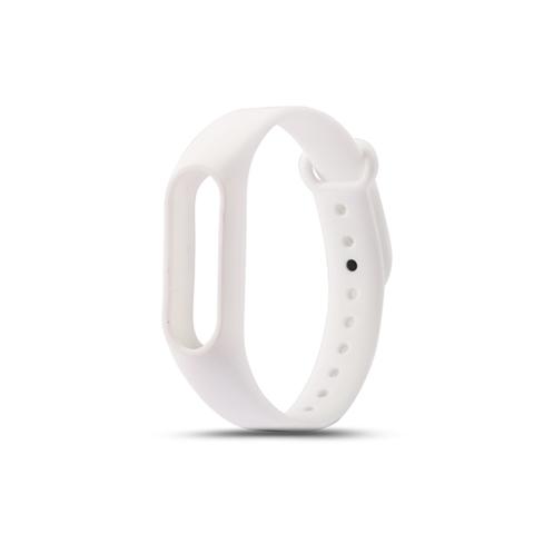 Сменный браслет Xiaomi Mi Band 3 однотонный (Белый)
