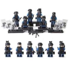 Минифигурки Военных Полиция SWAT серия 306