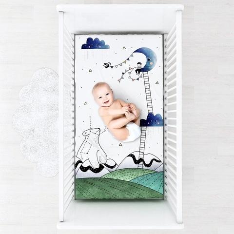 Фотопростынь на резинке Mjölk Little Prince