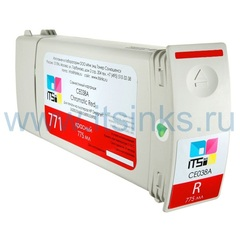 Картридж для HP 771 (CE038A) Red 775 мл