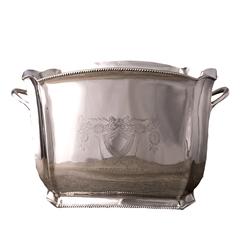 Ведро для льда 23см Roomers Silver Plated