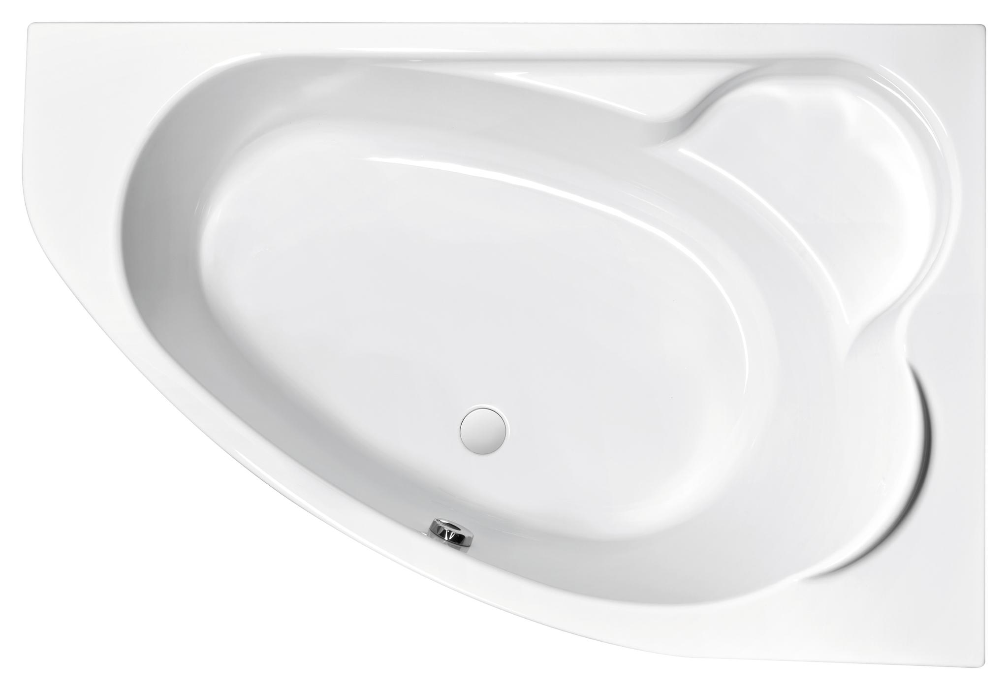 Акриловая ванна KALIOPE 170 правая