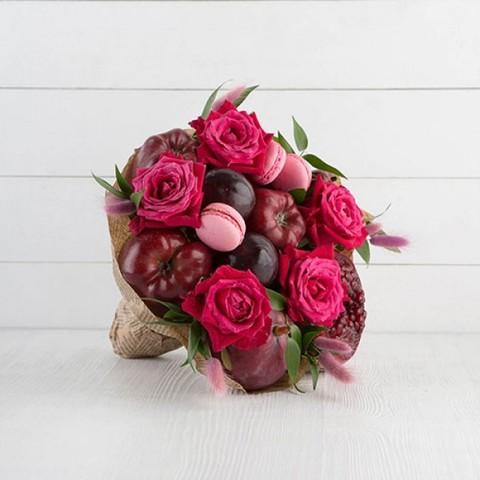 Фруктовый Букет Розовое Лето