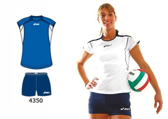 Волейбольная форма Asics Set Attack Lady blue b