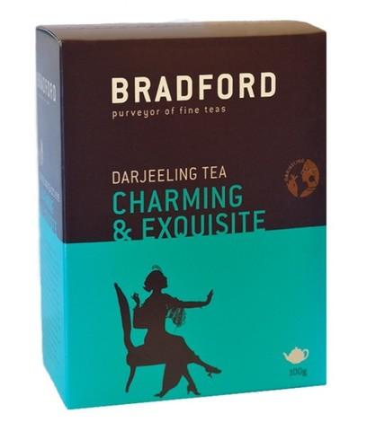 Чай BRADFORD Дарджилинг Стандарт-999 (чёрный, крупнолистовой) в пачке 100 г (Индия)