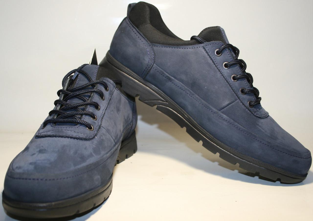 cf281c94e596c Спортивные туфли Cabani мужские синие кожаные на 2tufli.com.ua