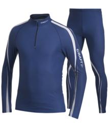 Лыжный раздельный комбинезон Craft Force (193348-2343-193347-2343) синий