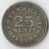 1928 P1972 Эстония 25 сенти