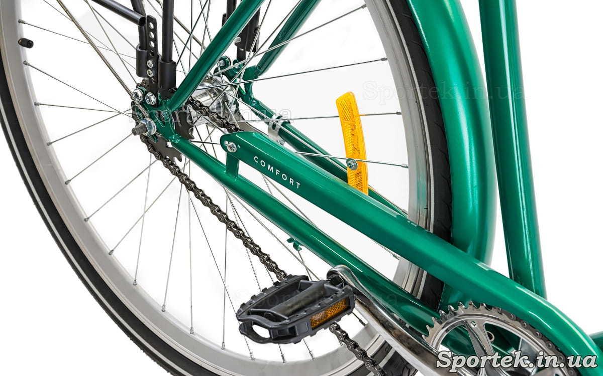 Городской мужской велосипед Dorozhnik Comfort Male 2018 - трансмиссия