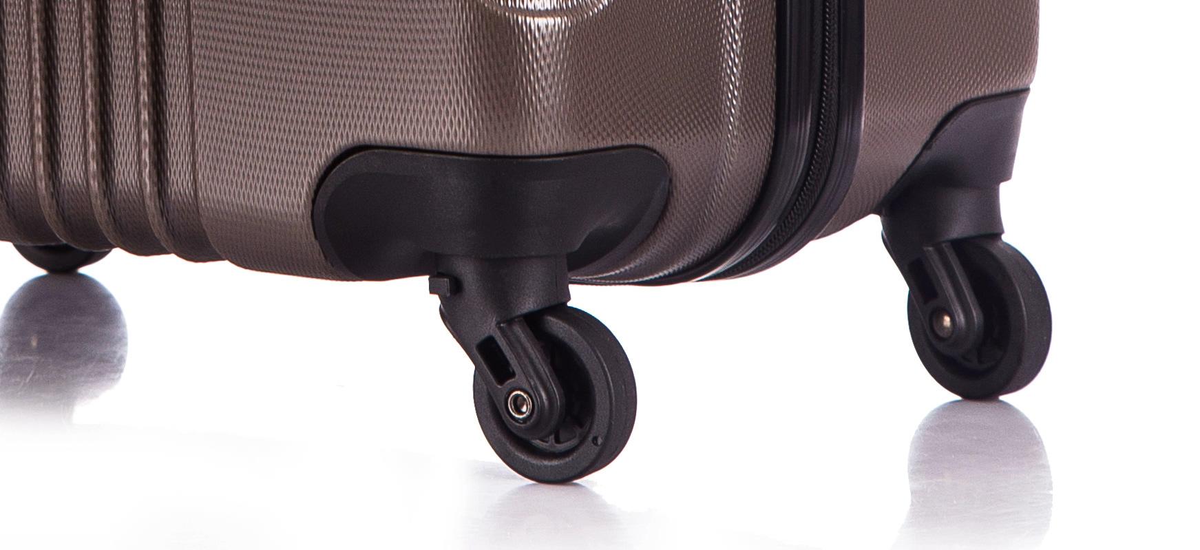 Чемодан со съемными колесами L'case Bangkok-22 Кофейный (M)
