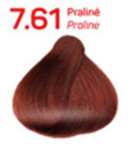 7.61 пралине. Краситель для волос с эффектом лифтинга KV-1