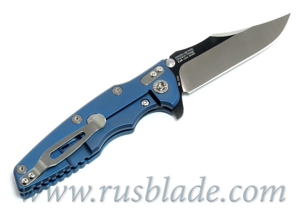 Zero Tolerance 0392BLUBOWIE Factory Custom